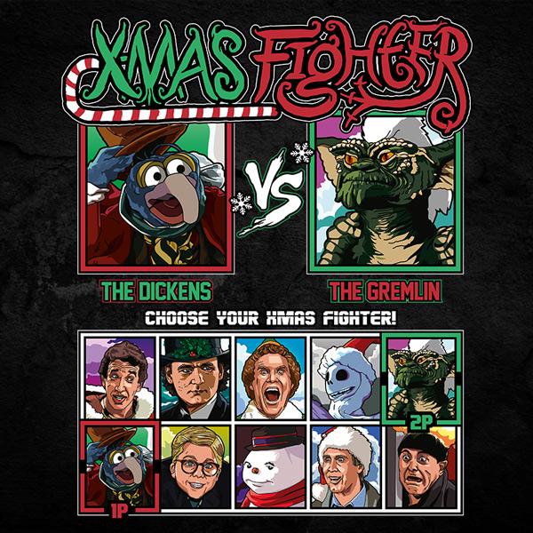 Xmas Fighter - Muppets Christmas vs Gremlins