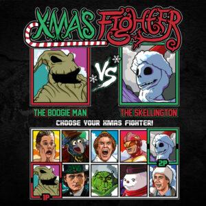 Xmas Fighter - Nightmare Before Christmas