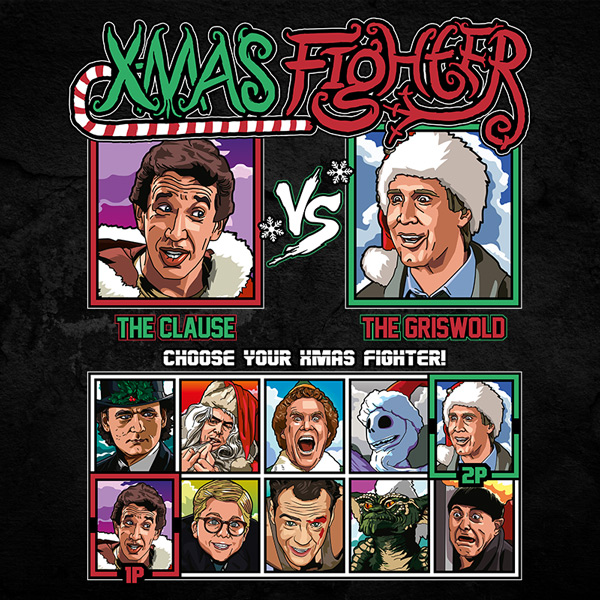 Xmas Fighter - Santa Clause vs National Lampoons Christmas Vacation