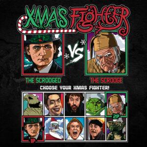 Xmas Fighter - Scrooged vs Christmas Carol