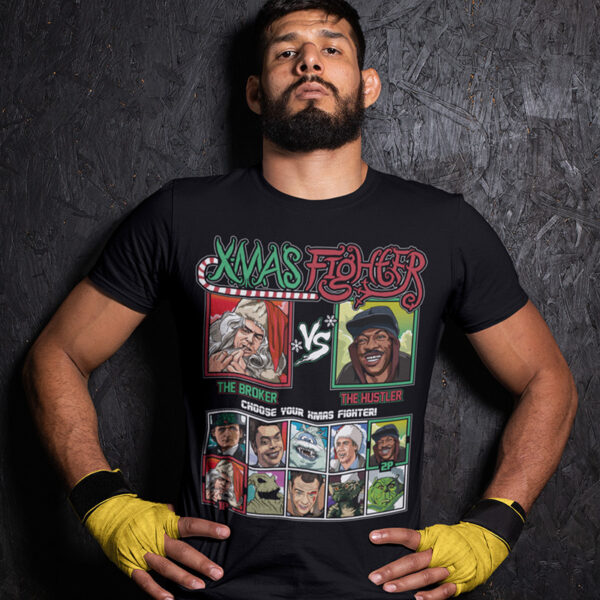 Xmas Fighter - Trading Places TShirt